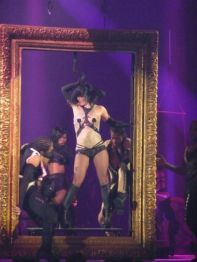 "Britney performing ""Get Naked"""