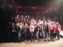 Group Picture with Seether - Soundcheck