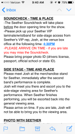 Side Stage description
