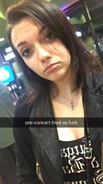 pre-concert selfie