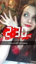 Lana Concert Countdown Selfie
