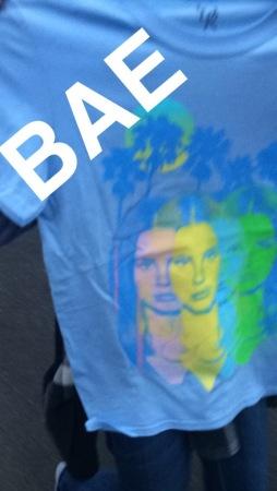 Lana Del Rey Concert Shirt