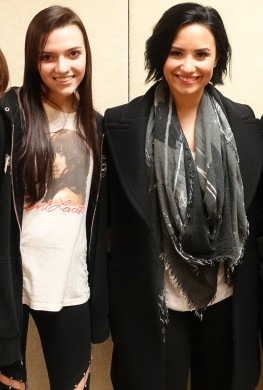Meeting Demi Lovato on November 14th, 2015