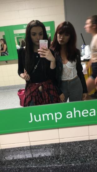 Pre-Show Selfie