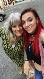 My mom & I, Pre-Show