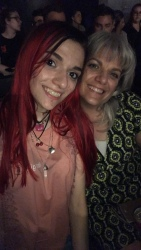 My mom & I at the Show
